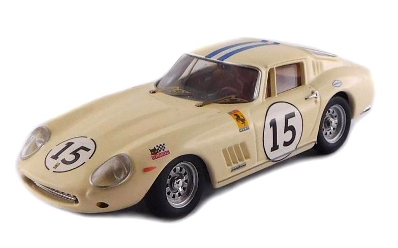 Ferrari 275 Gtb//4 #15 24H Le Mans Test 1968 Grossman Berney BEST 1:43 BE9715