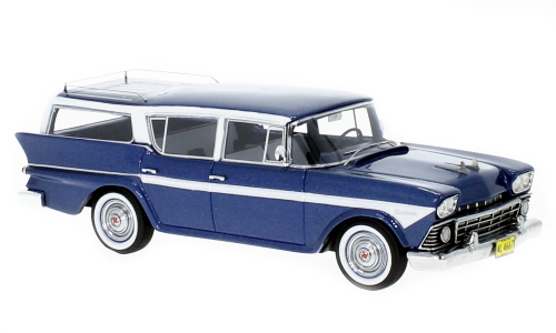 NEO - Rambler Custom Cross Country 6 Station Wagon Bleu Métallisé/Blanc - 1956 - NEO44667