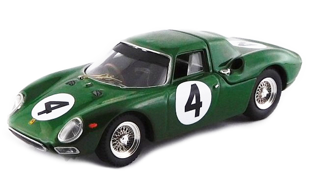 BEST - Ferrari 250 LM n°44 29eme R.A.C. International Tourist Trophy - 1964 - Piper - BES9762 -