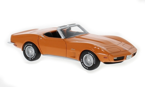 NEO - Chevrolet Corvette Cabriolet Orange - 1973  - NEO46935
