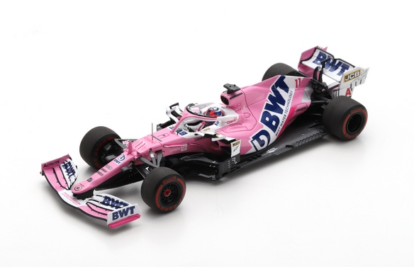 SPARK - Racing Point RP20 N°11 BWT 6ème GP F1 Styrie 2020 Sergio Perez - S6474 -